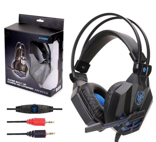 China Best Wholesale Custom Gaming Headset Headphone For Computer Tablet Pc Mobile Phone Cell Phone And Ipad China Wired Headphone Headset And Cell Phone Headphone Headset Price
