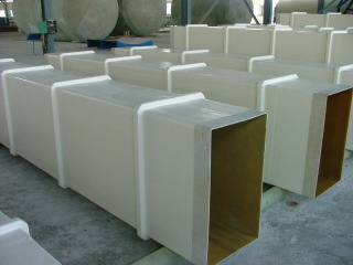 FRP /GRP Duct for Central Air Conditioner, Square or Round