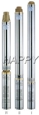 Deep Well Submersible Electric Water Pump (100HQJD6)