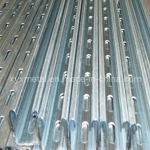 China unistrut strut slotted structural steel profiles