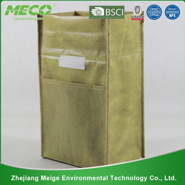 Printed Insulated Non Woven Cooler Lunch Bag with Custom Size (MECO113)