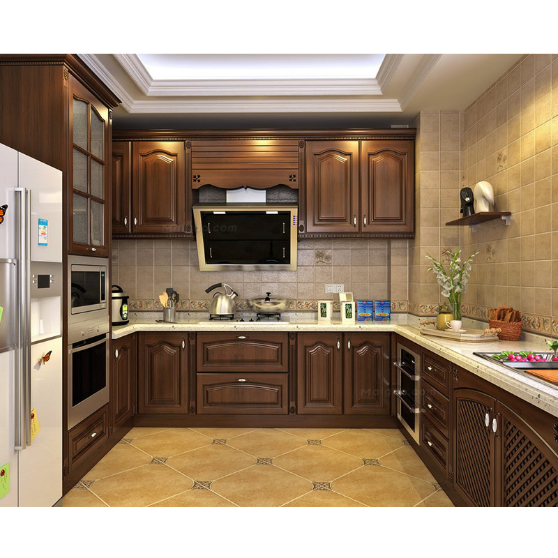 [Hot Item] Customized New Idea Acrylic Kitchen Cabinet with Kitchen Island  Cabinet for Apartment Project