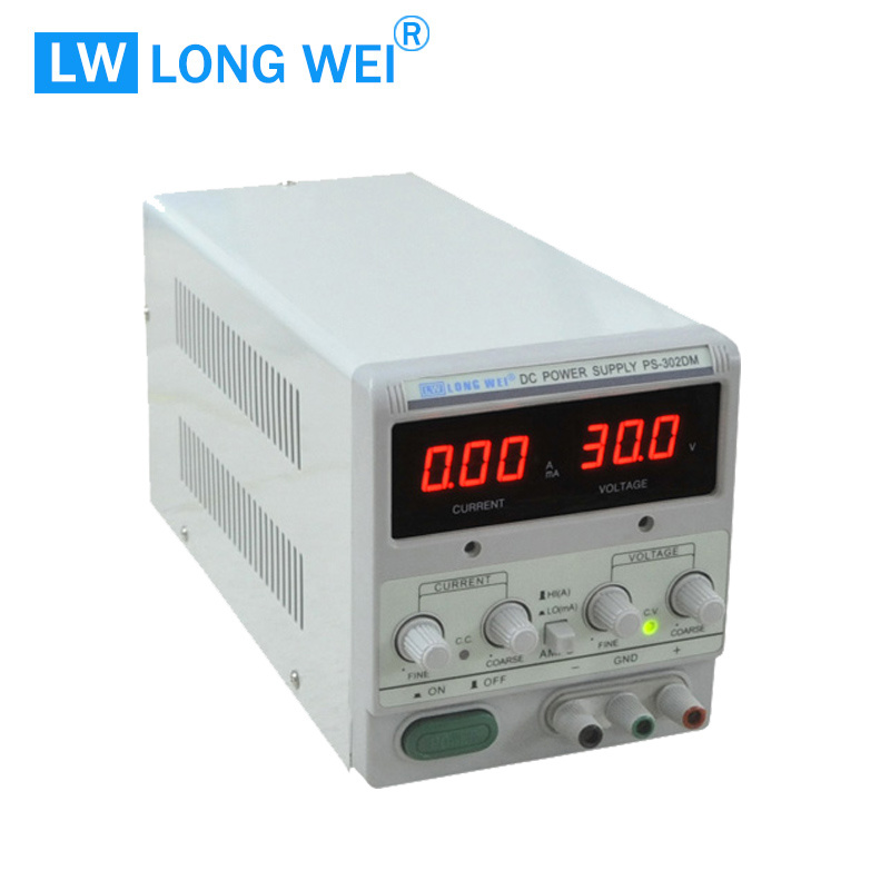 60W PS302dm Adjustable Linear DC Power Supply with Ma Display