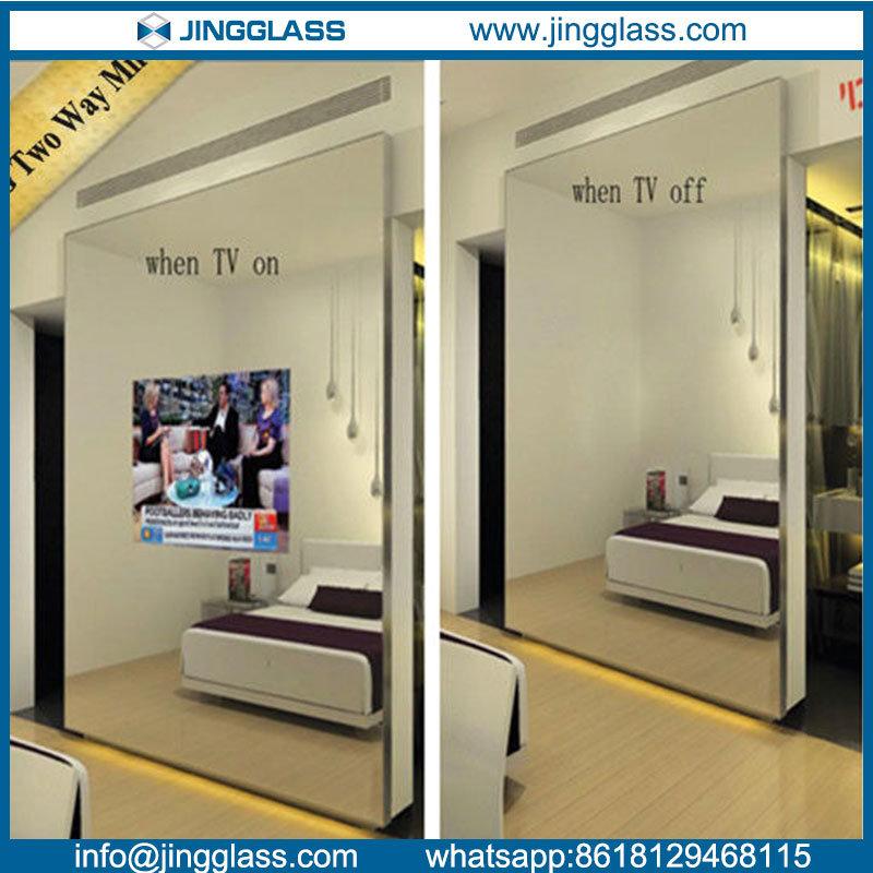Decorative Mirror Glass One Way Two
