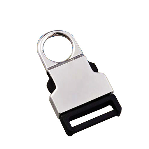Plastic Side Release Buckle with Metal