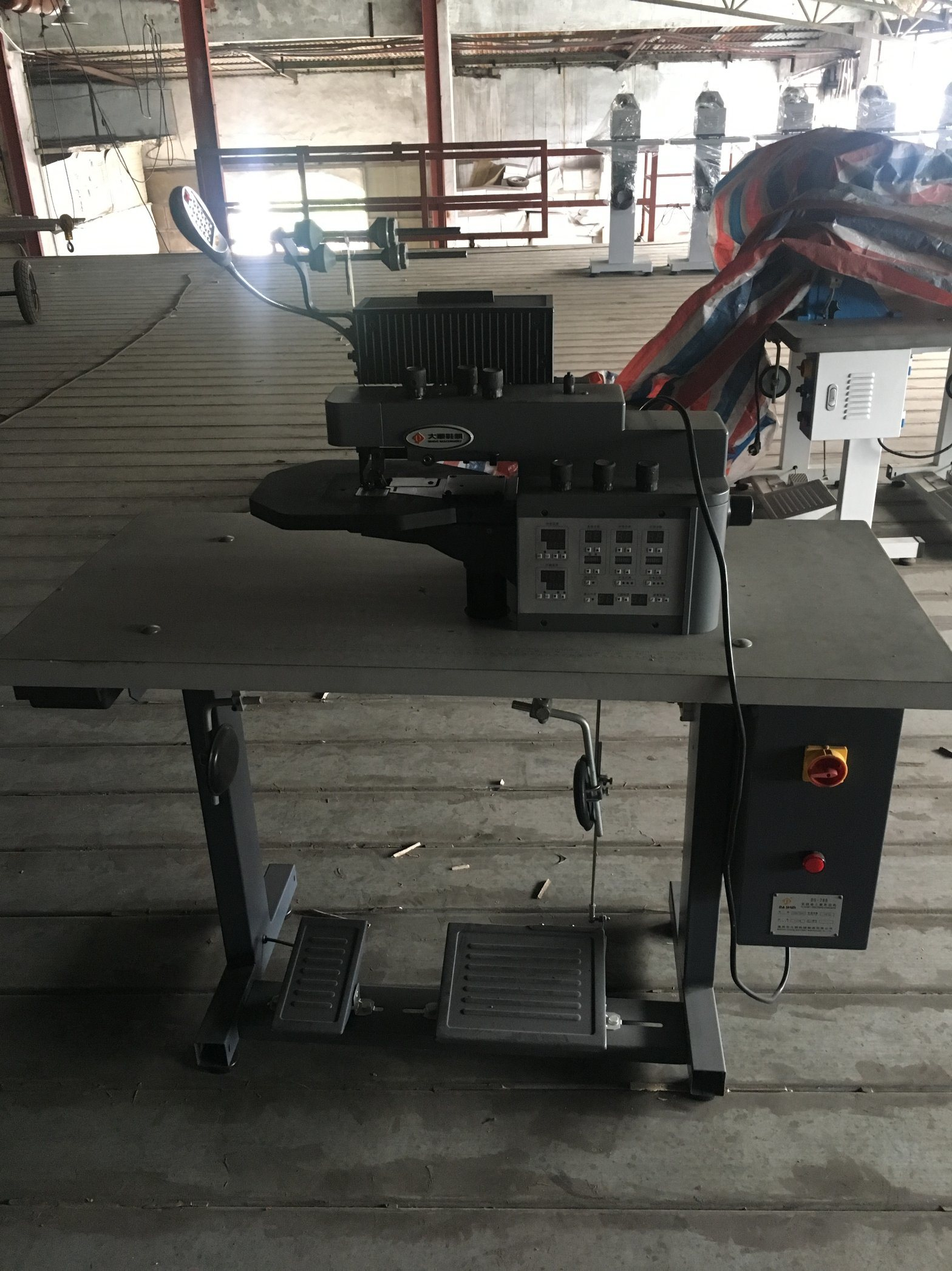 Ds-768 Intelligent Thermo Cementing & Folding Machine for Shoe