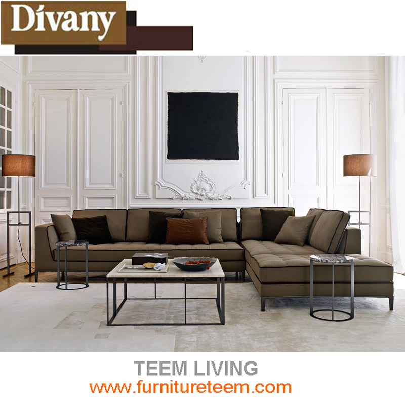[Hot Item] Modern Living Room Leather Sofa for Modern Sofa Furniture  /Couches