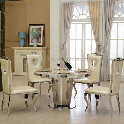 China India Round Marble Dining Table Set China Dining Table