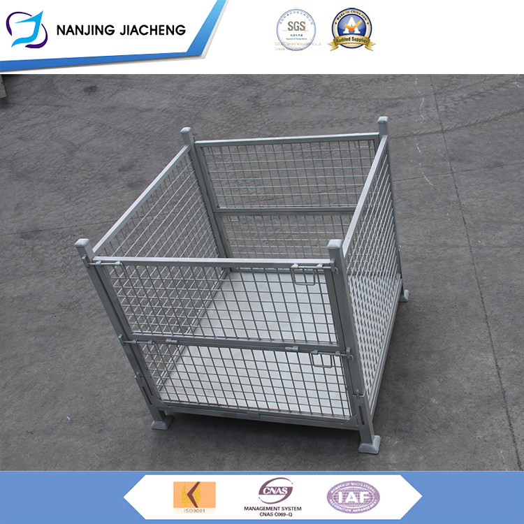 Charmant China On Time Delivery Wholesale Price Black Wire Mesh Storage Bins   China  Wire Mesh Pallet, Stacking Mesh Container
