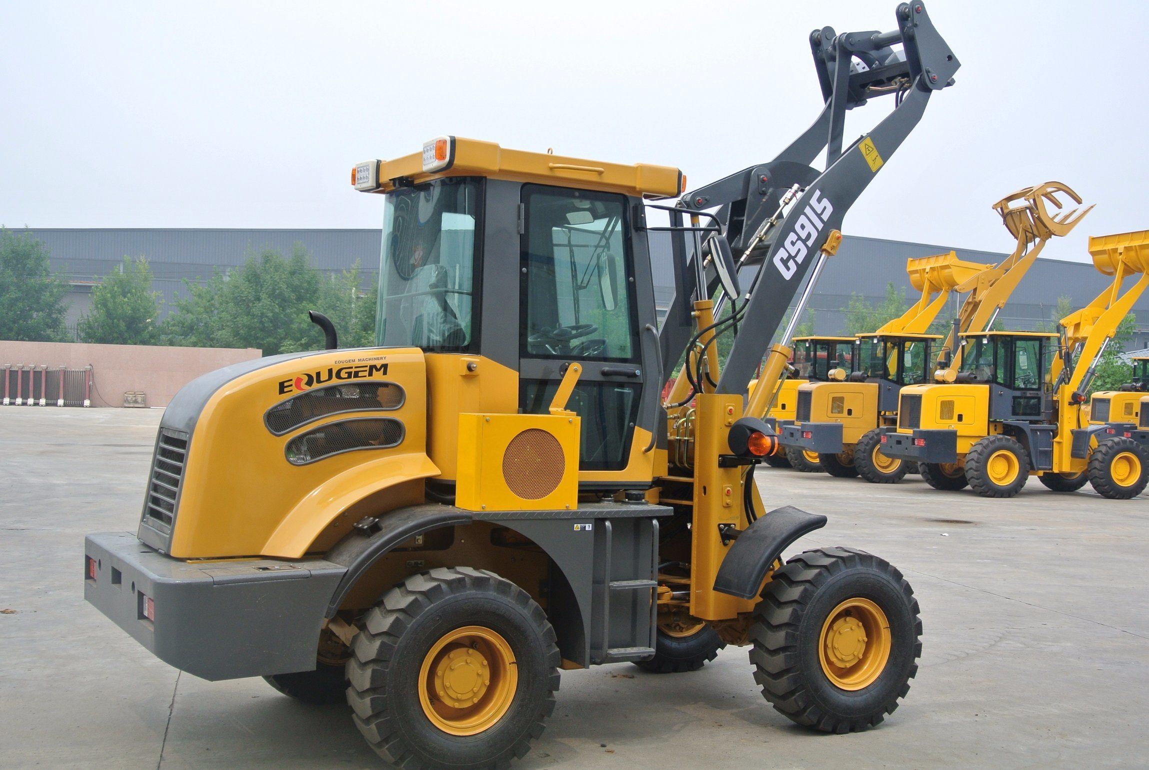 Chinese High Quality Small Wheel Loader for Europe pictures & photos