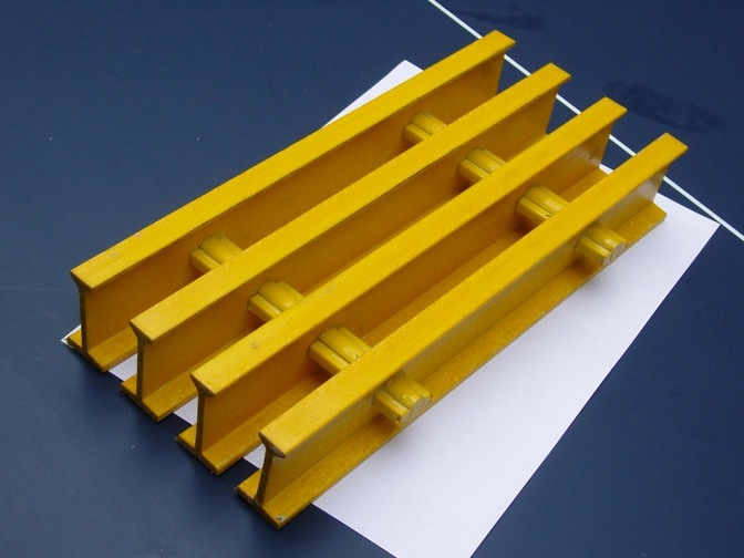 FRP/GRP Pultruded Grating, Fiberglass Pultrusions, Pultruded Gratings