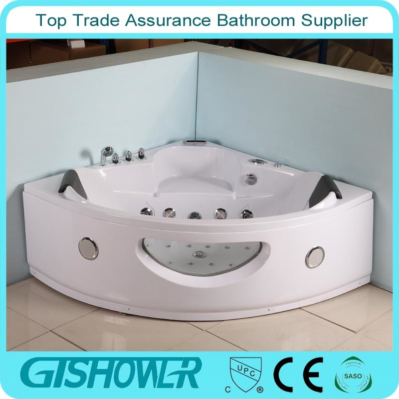 Indoor Corner Jacuzzi Tub (KF-629) pictures & photos