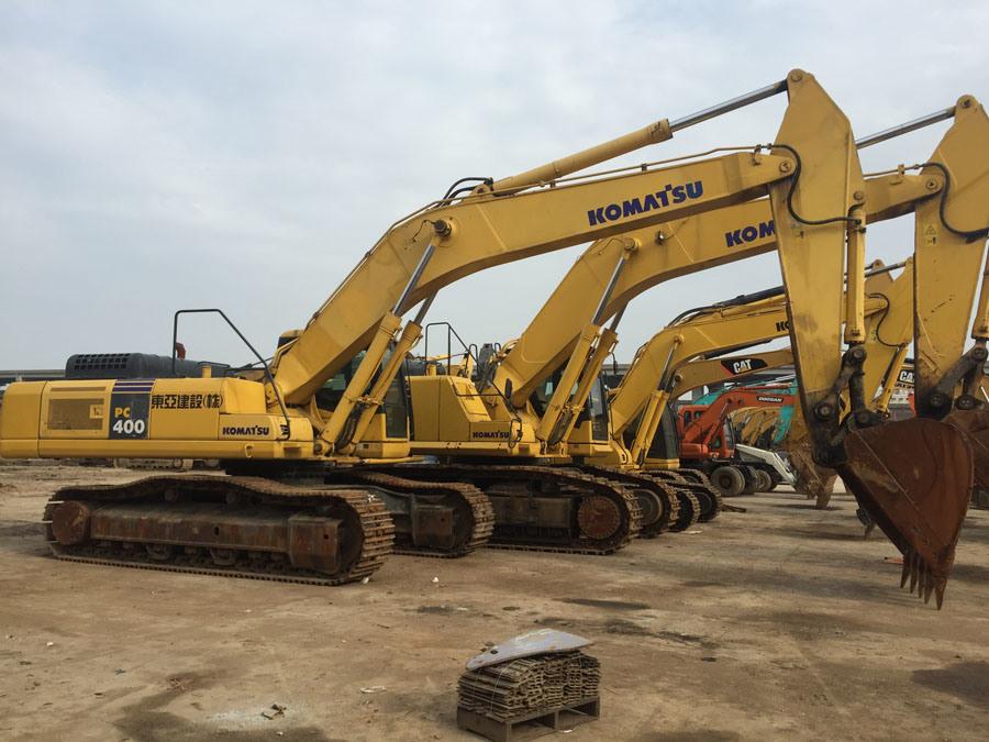 [Hot Item] Sell Used Excavator Komatsu PC400-7, Used Komatsu Excavator