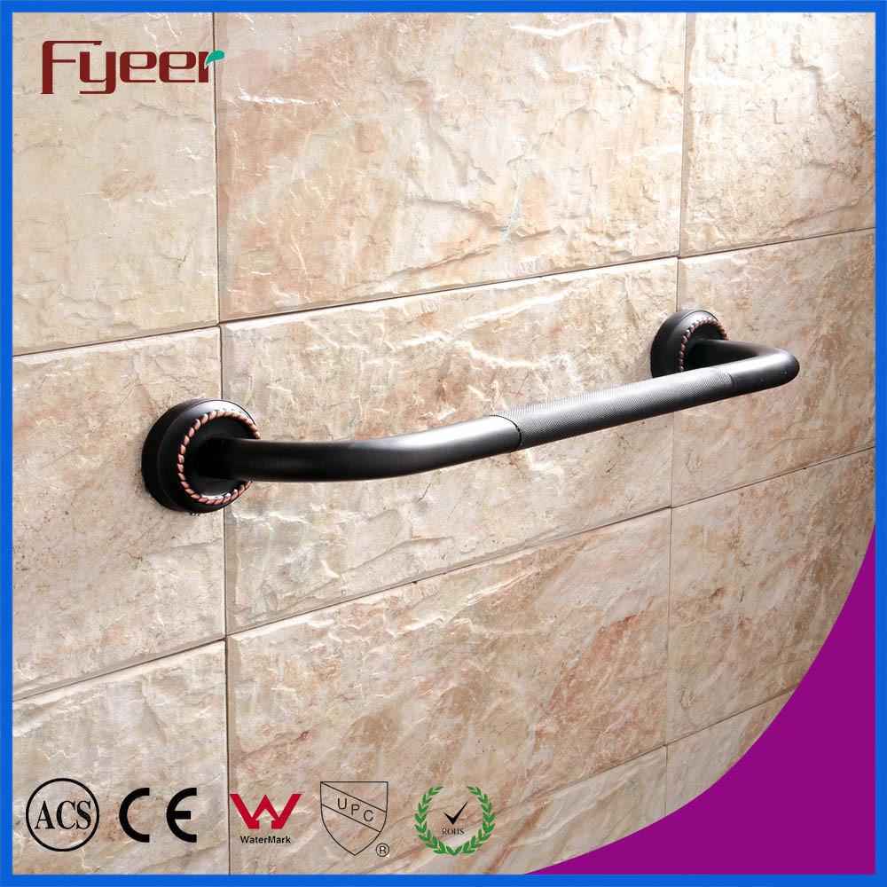 China Fyeer Black Series Bathroom Accessory Brass Antislip Safety ...