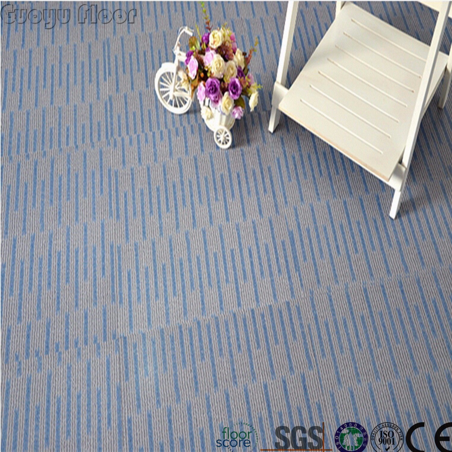 China Super Easy Install Click Lock Vinyl Floor Tiles China Vinyl