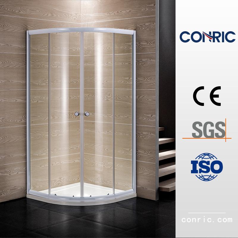 China Bathroom Tempered Glass Double Sliding Door Shower Enclosure ...