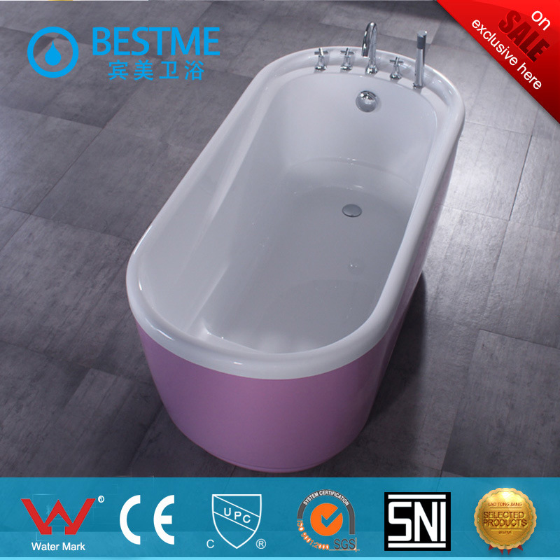 China Wholesale Price White Color Small Size Simple Art Bathtub (BT ...