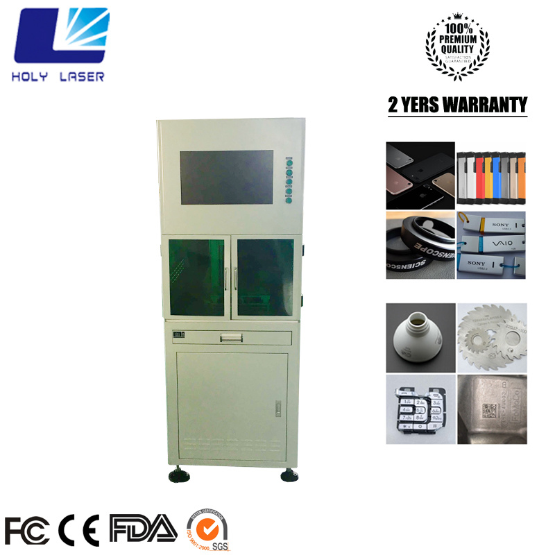 Safe Model Closed Type Fiber Laser Metal Marking Machine pictures & photos