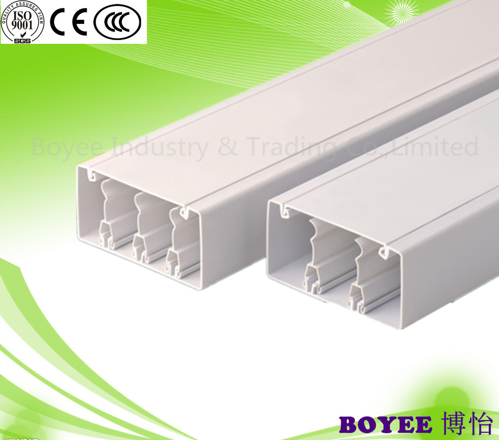 China PVC Electrical Cable Wiring Channel PVC Gutter Photos ... on