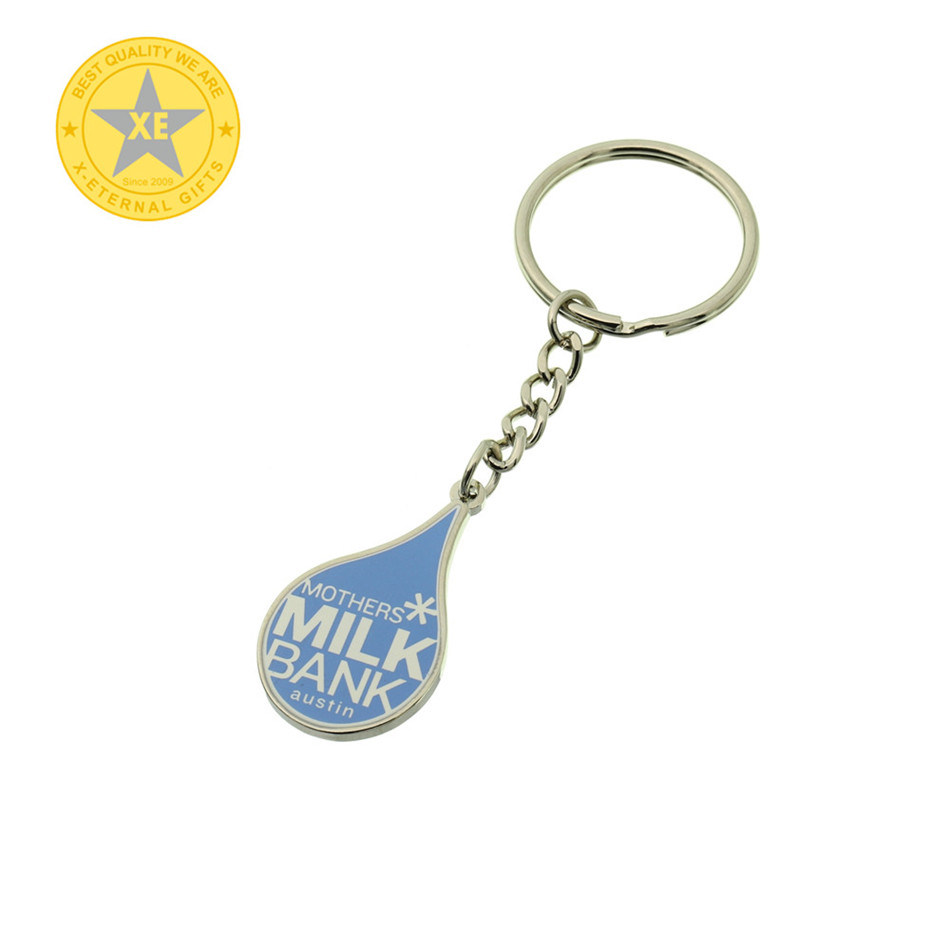 Ribbon or Custom Fittings Wholesale Custom Design Key Ring pictures & photos