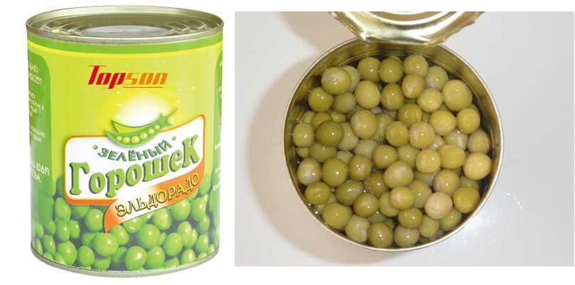 Canned Green Peas with Cheap Price From China