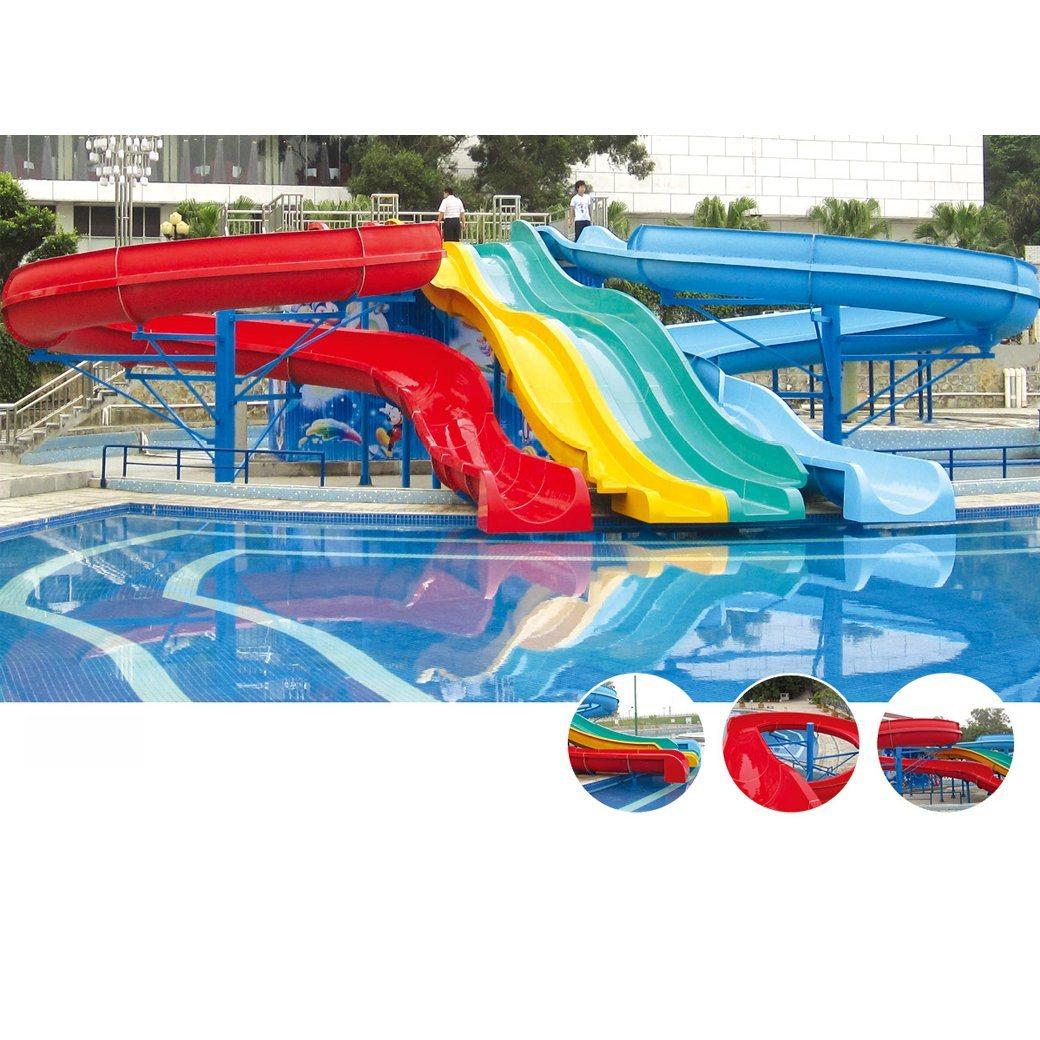 China Family Fun Small Size Swimming Pool Slide China Aqua Park And Water Slide Price