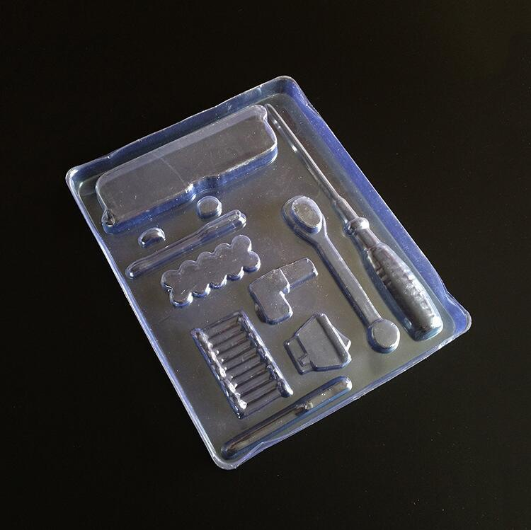 PVC Plastic Box Transparent Metal Screwdriver Plastic Packaging pictures & photos