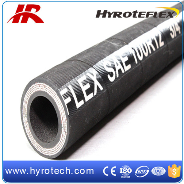 Oil Hose Hydraulic Hose SAE 100 R12 Hydraulic Hose Assembly pictures & photos