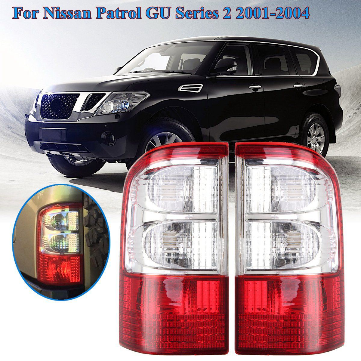 China 12 V Rear Tail Light for Nissan Patrol Gu Series 2 ... on