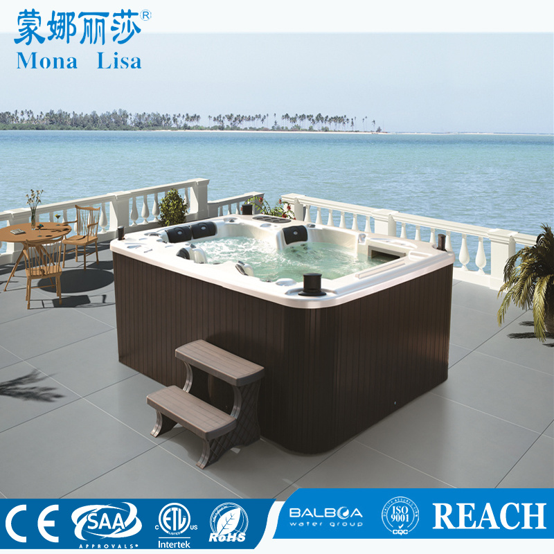 China Monalisa Outdoor 5 People Whirlpool Jacuzzi Hot Tub SPA (M ...
