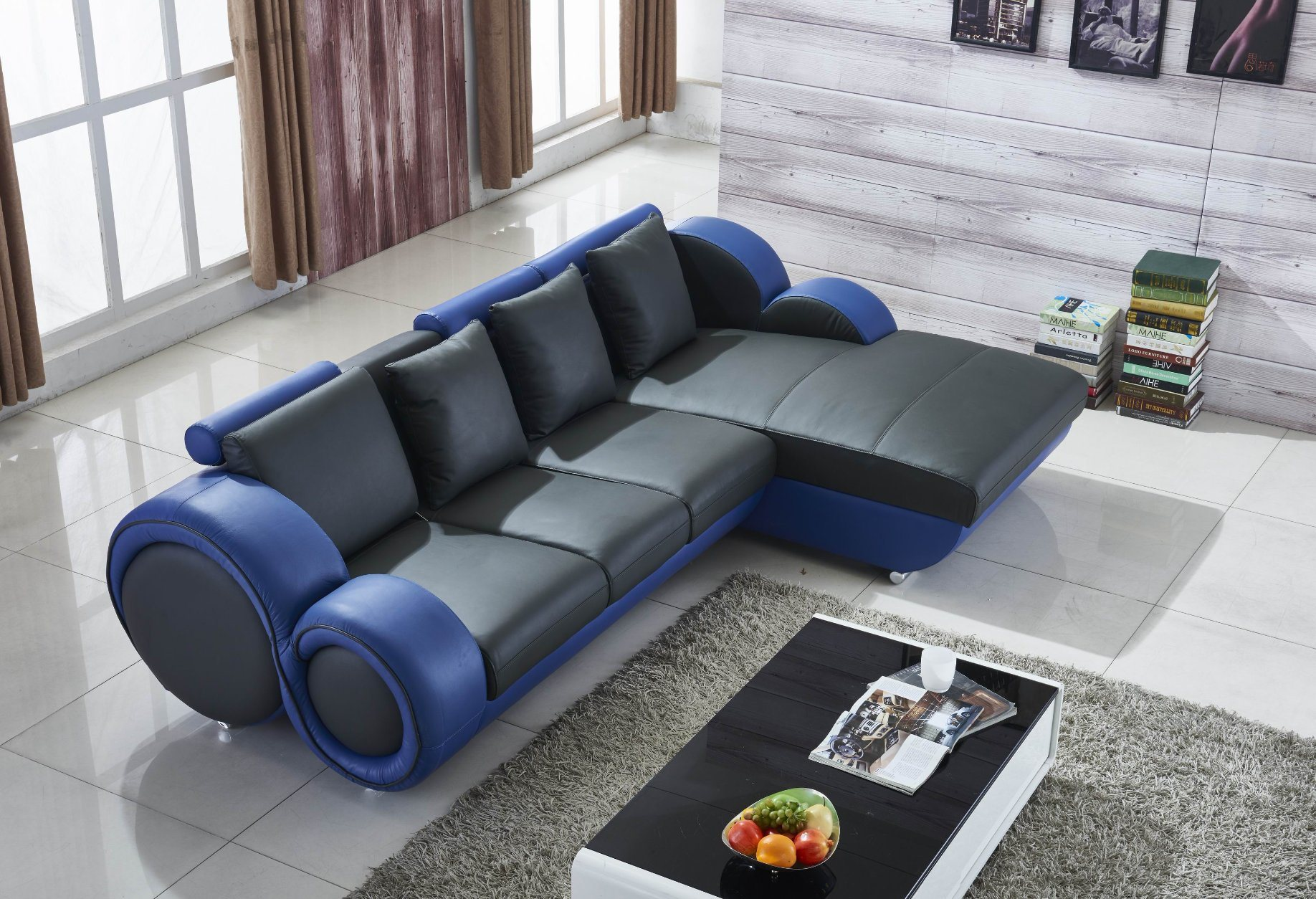 China Corner Automatic Nanual Recliner Modern Latest Design U Shaped Recliner Leather Sectional Corner Sofa Living Room Sofa China Sectional Recliner Leather Sofa European Style Sectional Sofa