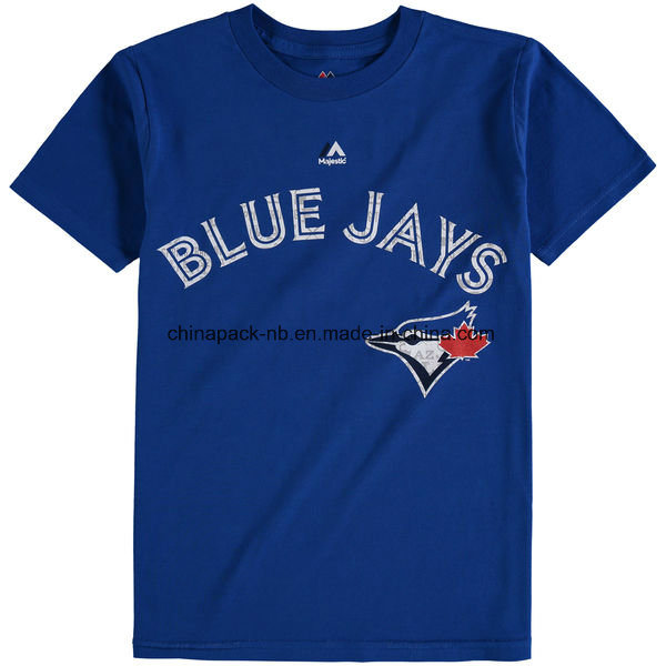 Youth Toronto Blue Jays 2017 Spring Training Name & Number T-Shirt pictures & photos