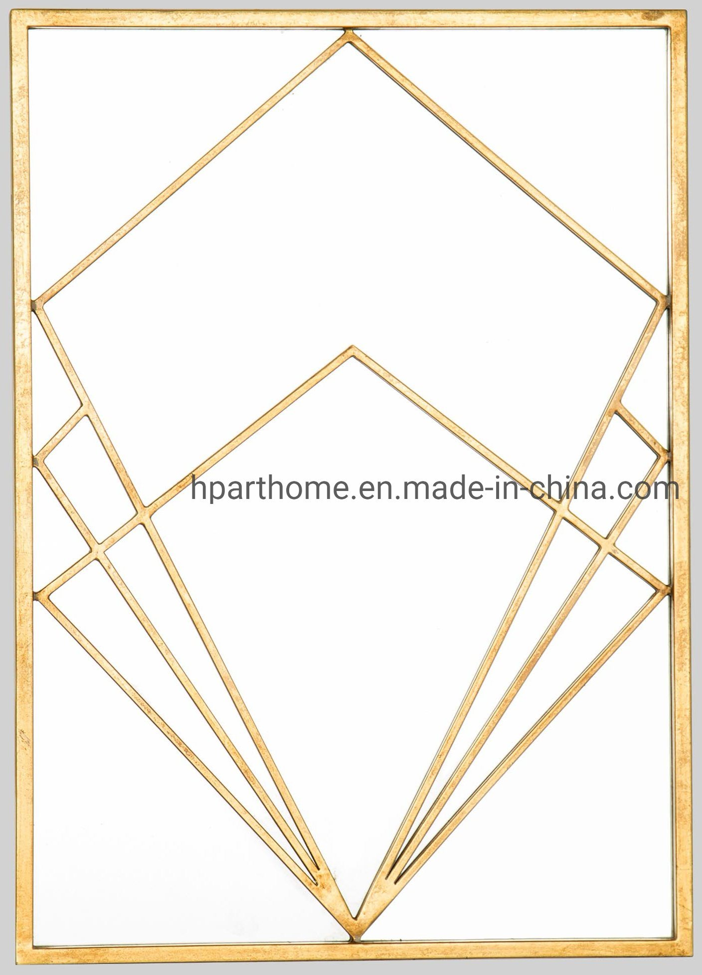 Hot Item Home Goods Rectangle Wall Accent Mirrors Decorative Accessories