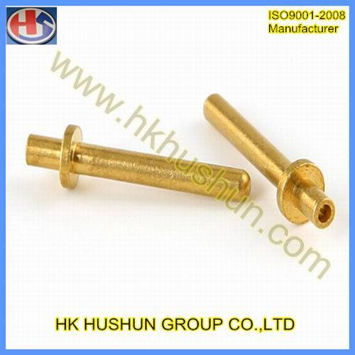 Injection Molding Copper Insert Metal Processing Copper Nut (HS-TP-020) pictures & photos