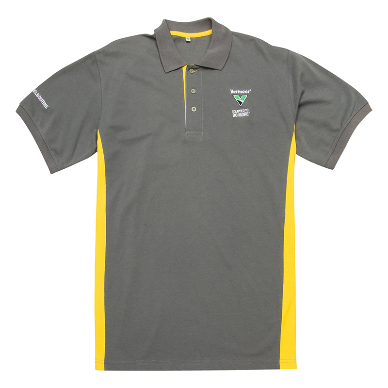 Customized Polo Shirt with Embroidery Patch (BG-M273)
