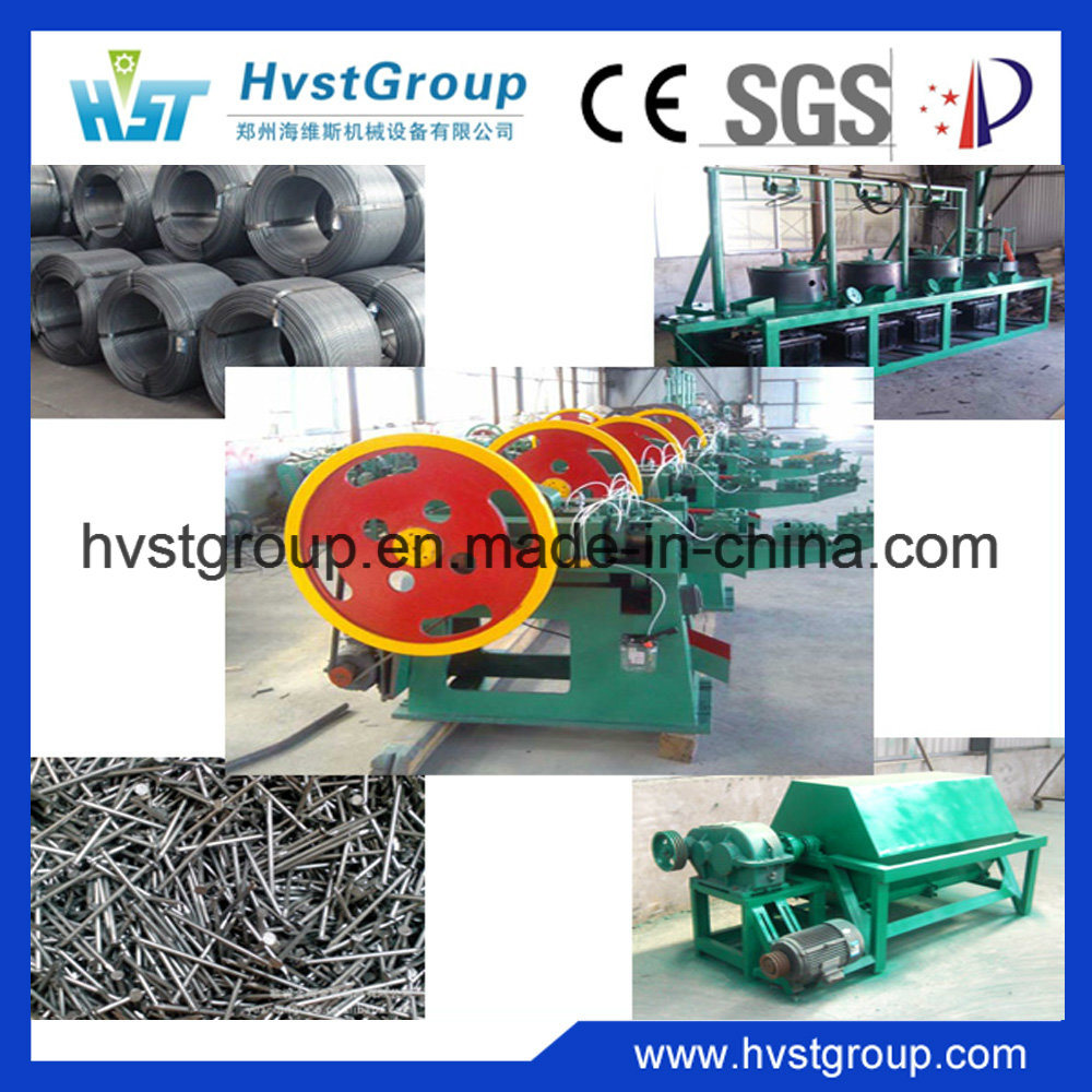 China Automatic Common Wire Nail Making Machine for Sale - China ...