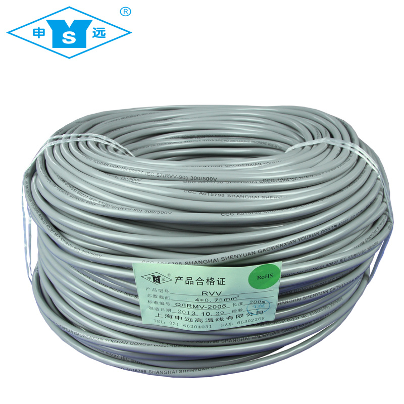 China 300/500V Multicore Flexible PVC Wires Cable - China PVC Wires ...