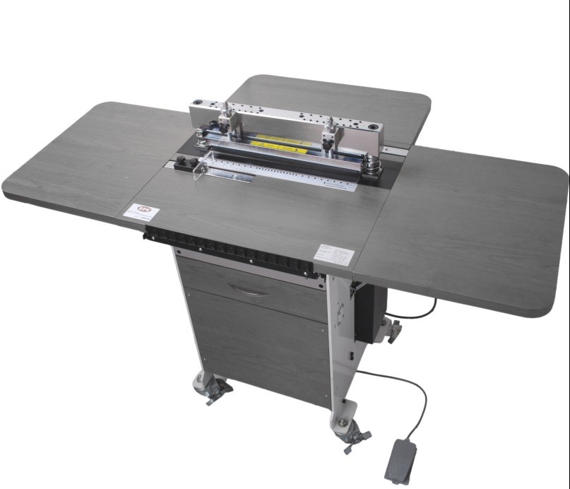 China Fast Electric Twin Ring Wire Binding Machine/Double