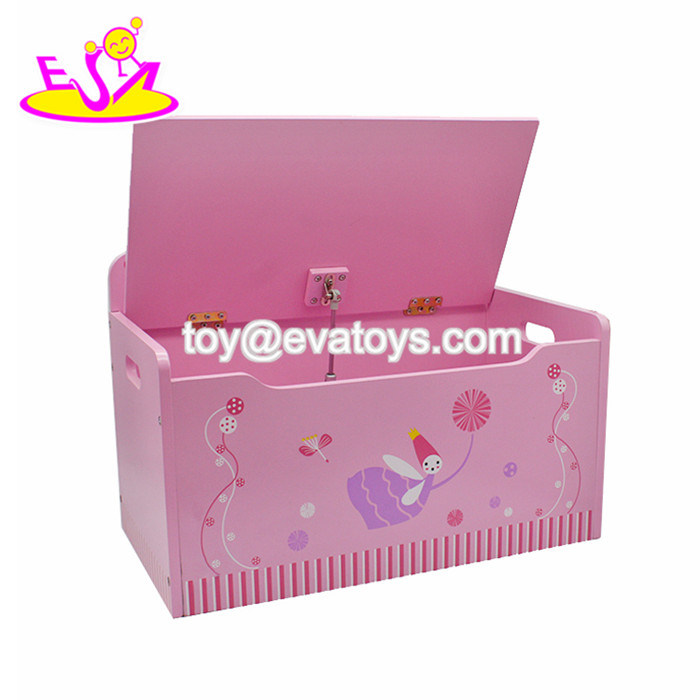 Pleasing China New Design Children Cartoon Wooden Toy Box With Lid Ncnpc Chair Design For Home Ncnpcorg