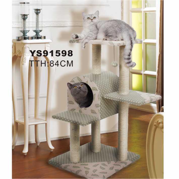 Pet Toys Type Cat Furniture Of Tree, Eco Cat Furniture