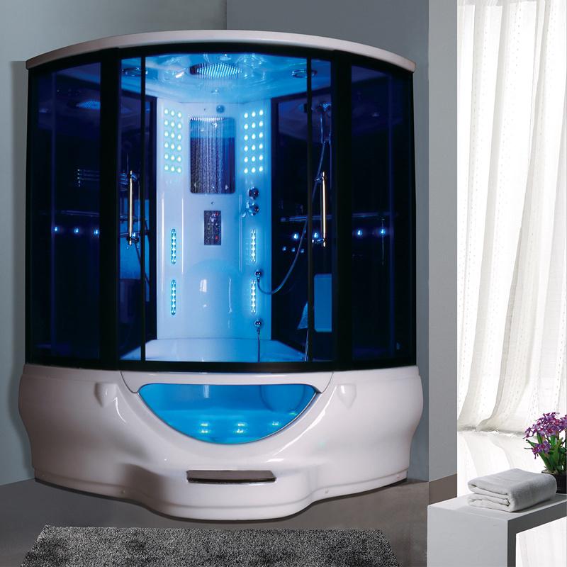 China Fashion Design Bathroom Shower Tub Combo Standard Size Steam Room China Steam Shower Room Steam Room