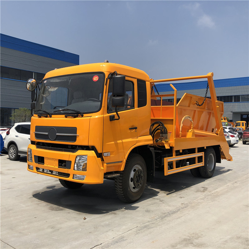 Trash Trucks For Sale >> China 4x2 Dongfeng 170hp 6 Tons Special Garbage Trucks