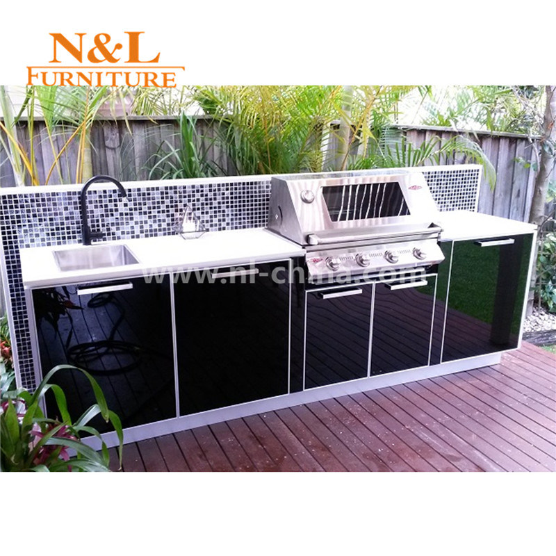 [Hot Item] N&L Stainless Steel Modular Kitchen Portable Outdoor Kitchen