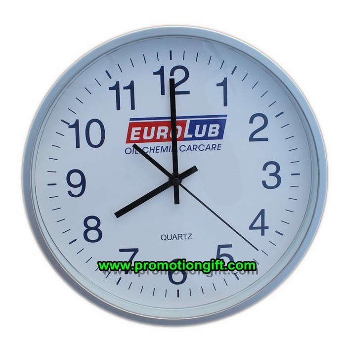 Promotional Plastic Decorative Silent Quartz Wall Clock