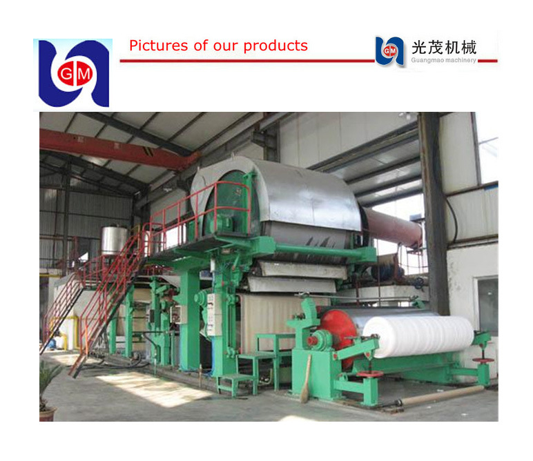 [Hot Item] Paper Making Machine, Trimed Width 1760mm  Capacity 11-12 Ton  Per Day Toilet Paper Machine, Price of Tissue Paper Mill