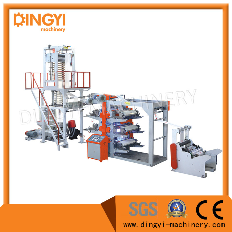 Film Blowing Machine with Flexible Printing Connect-Line Set