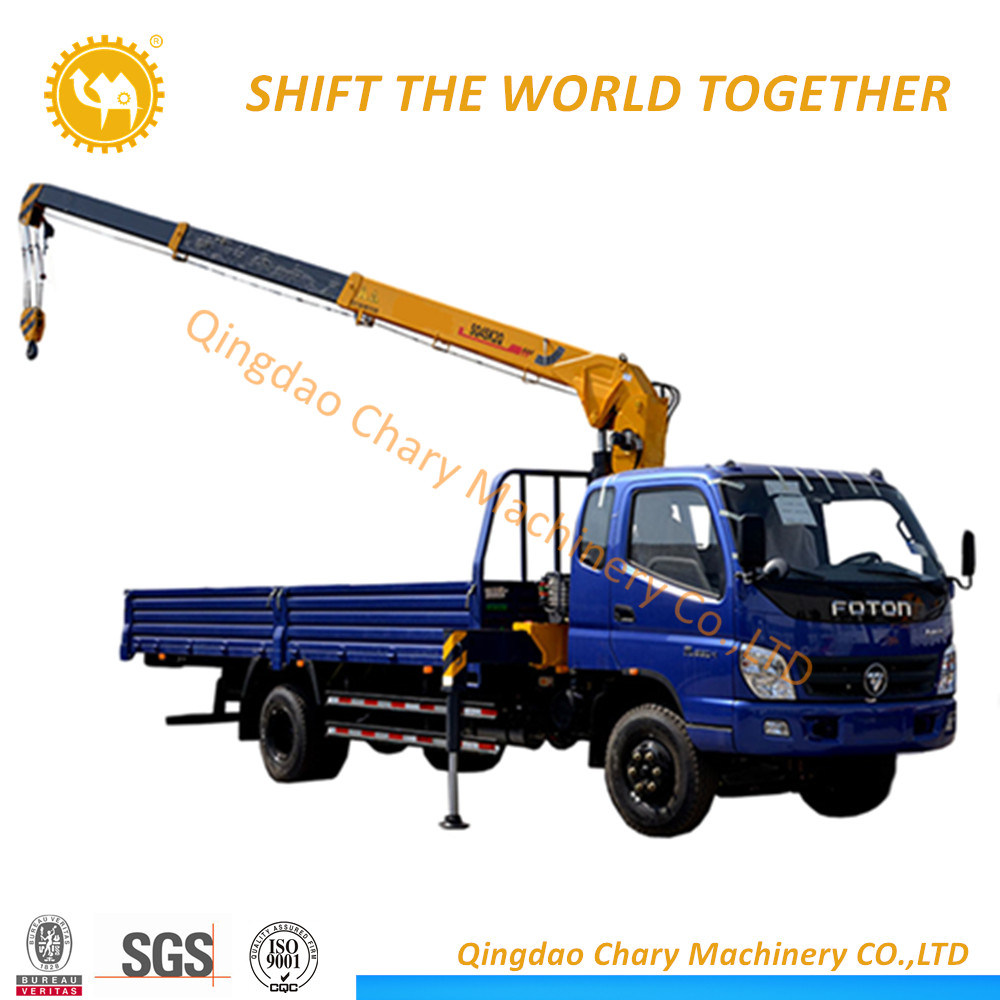 Flatbed Truck For Sale >> Hot Item Sq5sk3q New Flatbed Truck With 5 Ton Crane For Sale