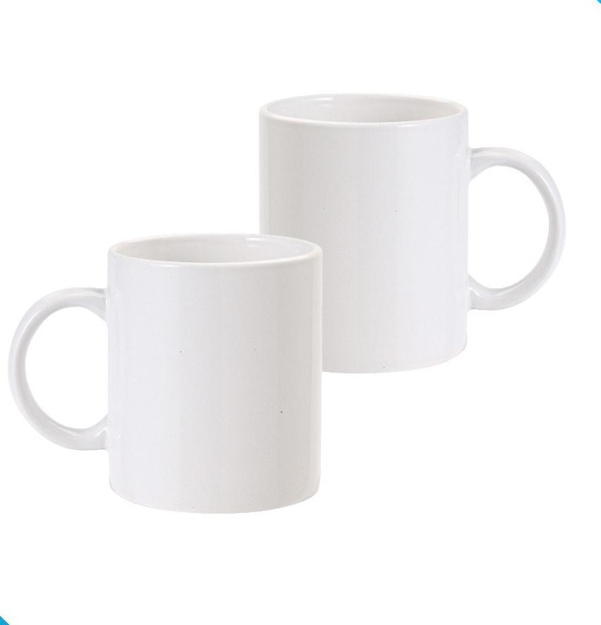 China Plain White Coffee Mug Bulk