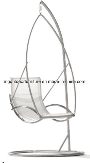 China Outdoor/Hotel Furniture Hanging Swing Chair with Metal Frame ...