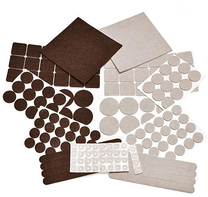 China Heavy Duty Self Adhesive Felt Pads For Furniture Chair Leg To Protect Your Floor